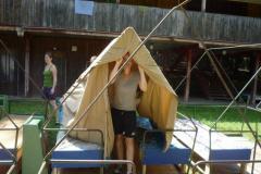 Stavění tábora - Červen