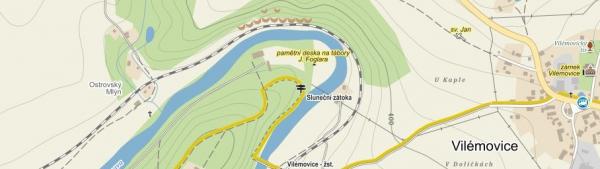 mapa k taboru